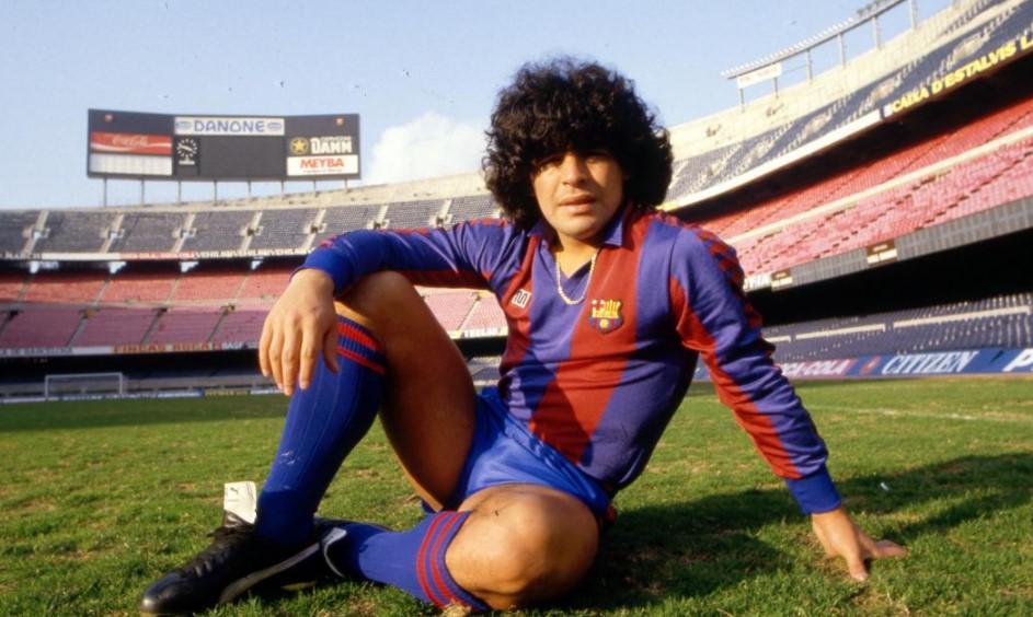 Diego Maradona Barcelona