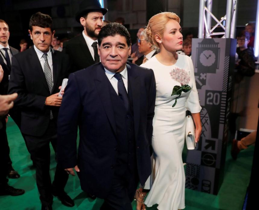Diego Maradona fiance