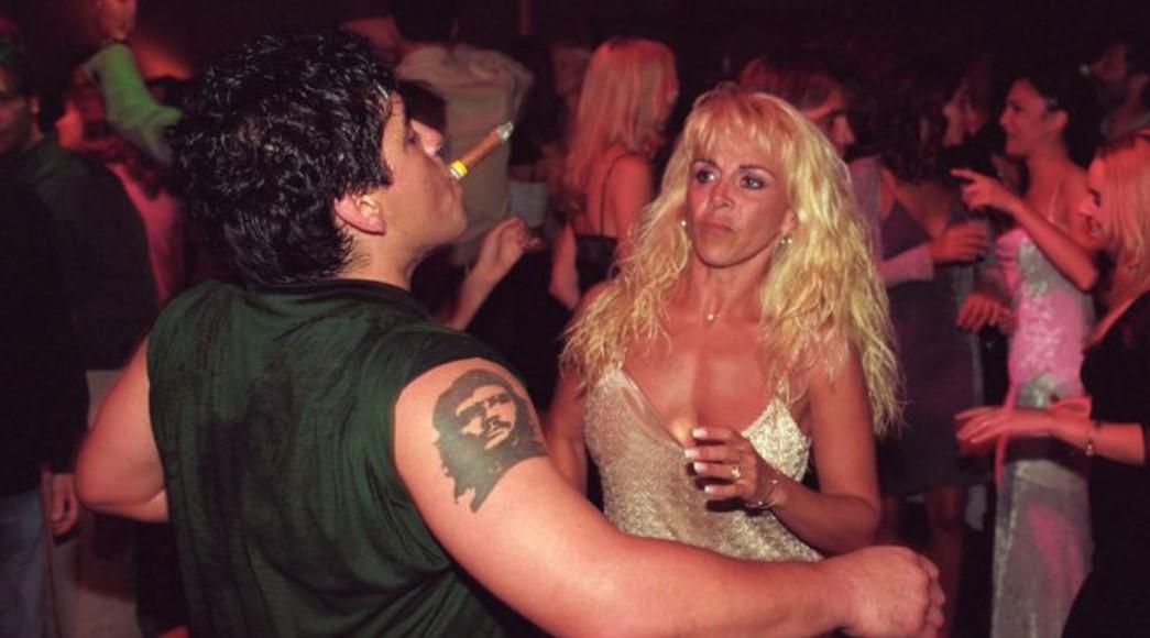 Diego Maradona wife