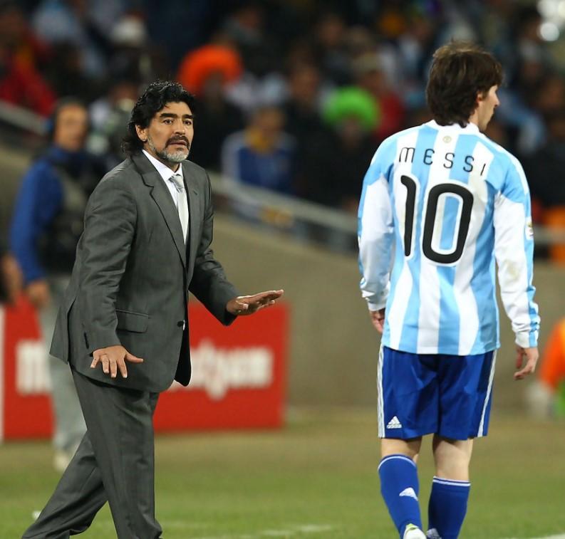Diego Maradona Manager