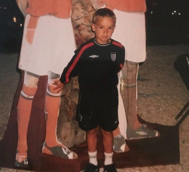 Harry Winks young