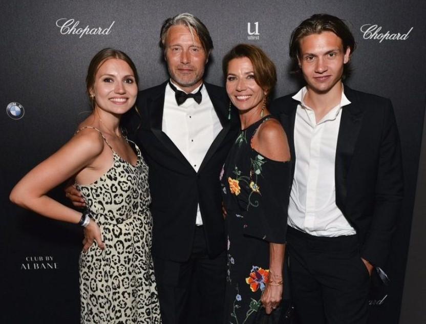 Mads Mikkelsen family