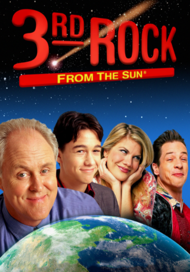 French Stewart as Harry Solomon on the NBC sitcom 3rd Rock from the Sun