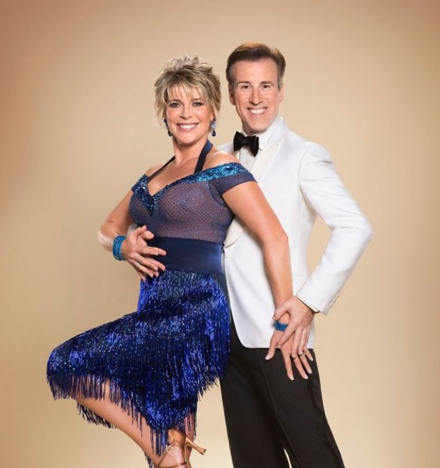 Ruth Langsford strictly come dancing