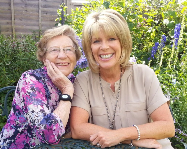 Ruth Langsford mother