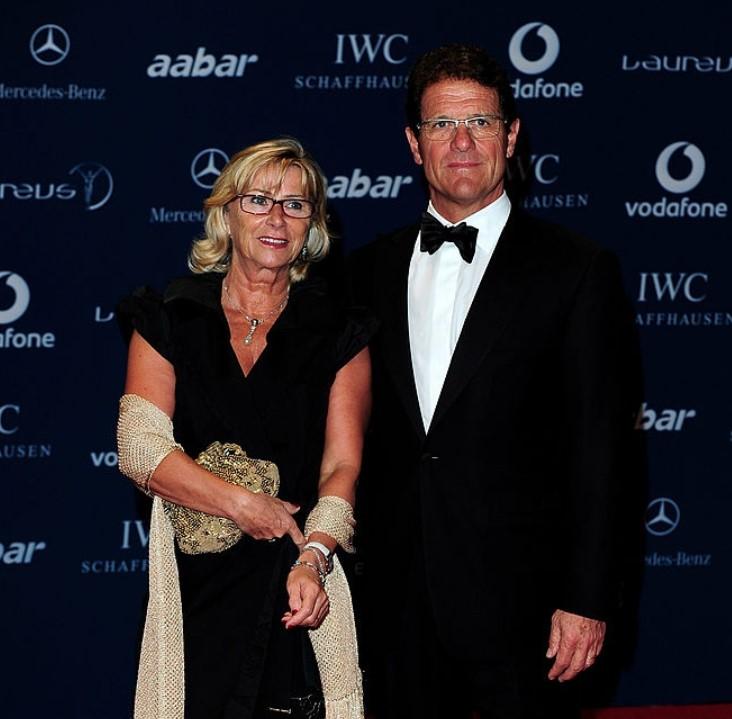 Fabio Capello wife