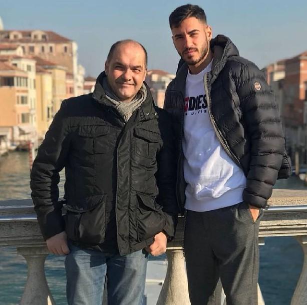 Gianluca Frabotta father