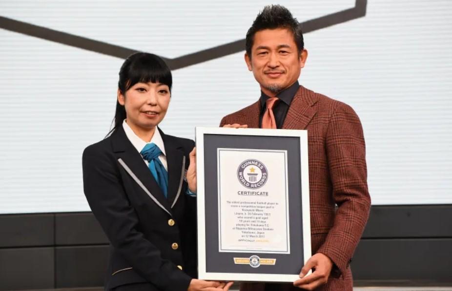 Kazuyoshi Miura records