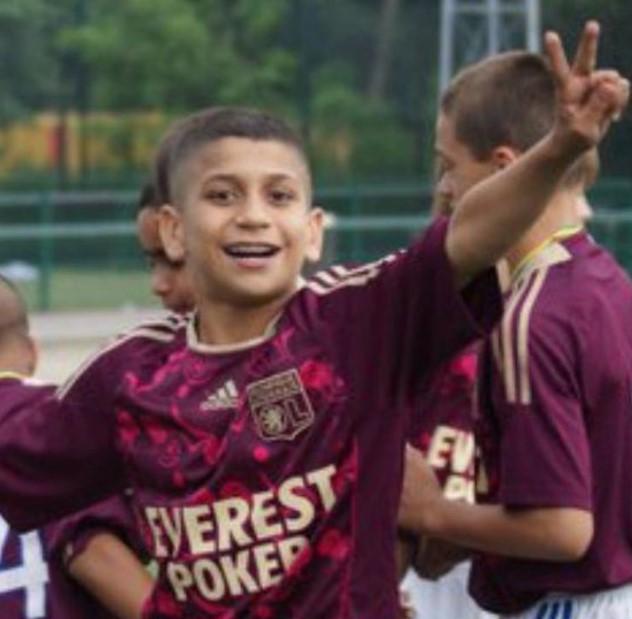 Hamza Rafia young