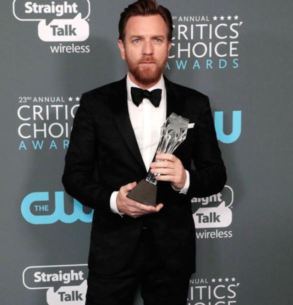Ewan McGregor with Critics' Choice Awards