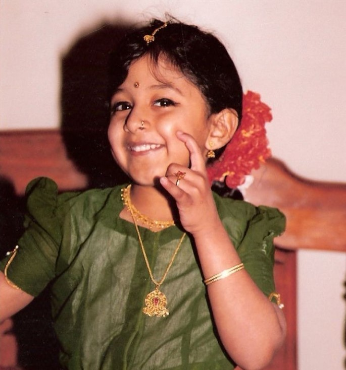 Raja Kumari young