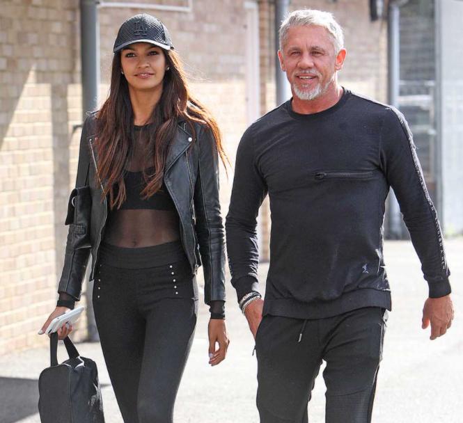 Wayne Lineker and his ex-girlfriend, Daniella Sandhu
