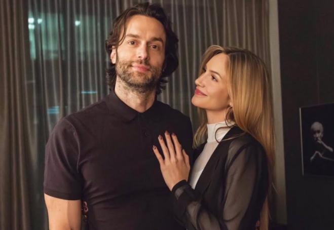 Kristin Taylor and her boyfriend, Chris D'Elia