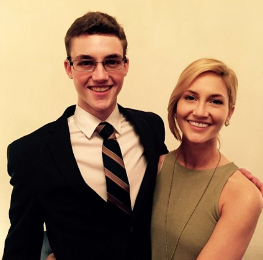 Kristin Taylor and her brother, Kyle Taylor