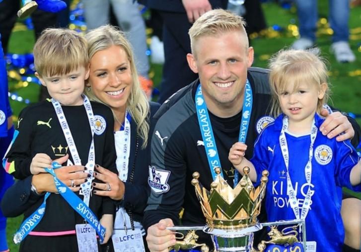 Kasper Schmeichel family