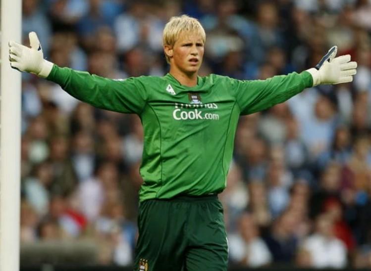 Kasper Schmeichel Manchester City