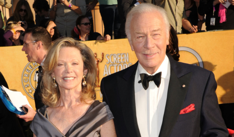 Christopher Plummer with his third wife, Elaine Taylor