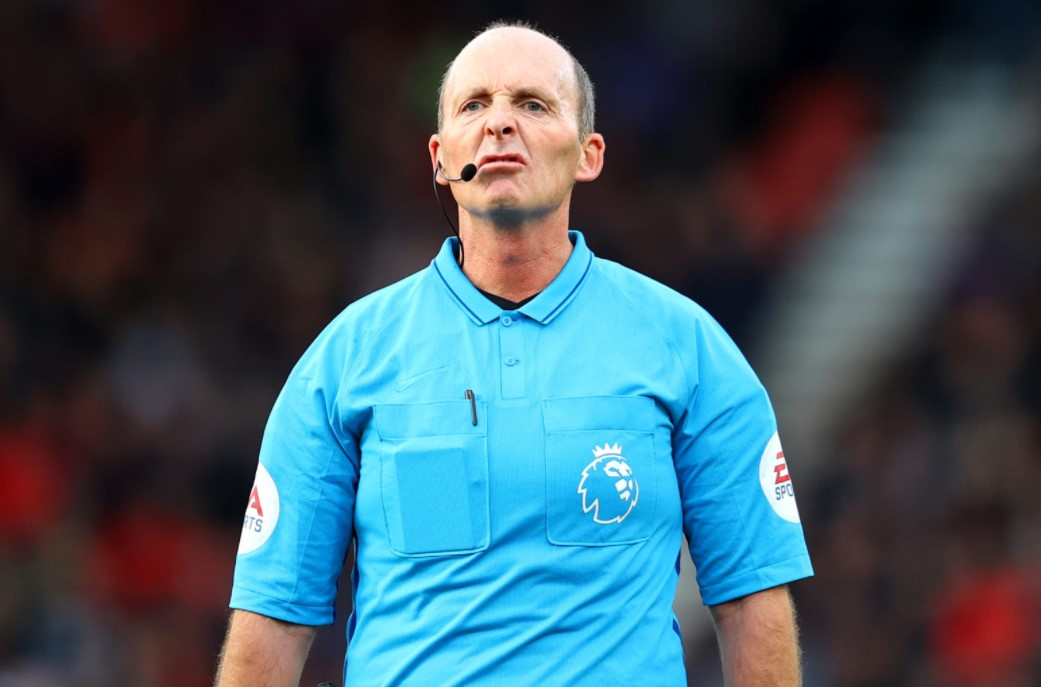 Mike Dean stats