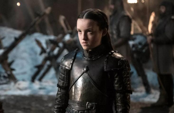 Bella Ramsey as Lyanna Mormont in 'Game of Thrones'
