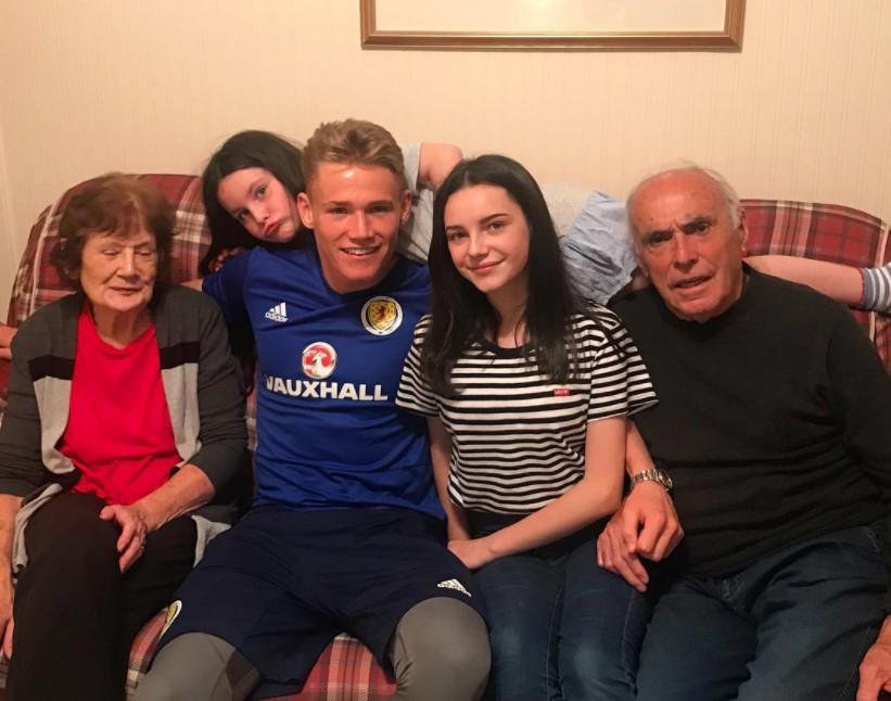 Scott McTominay family