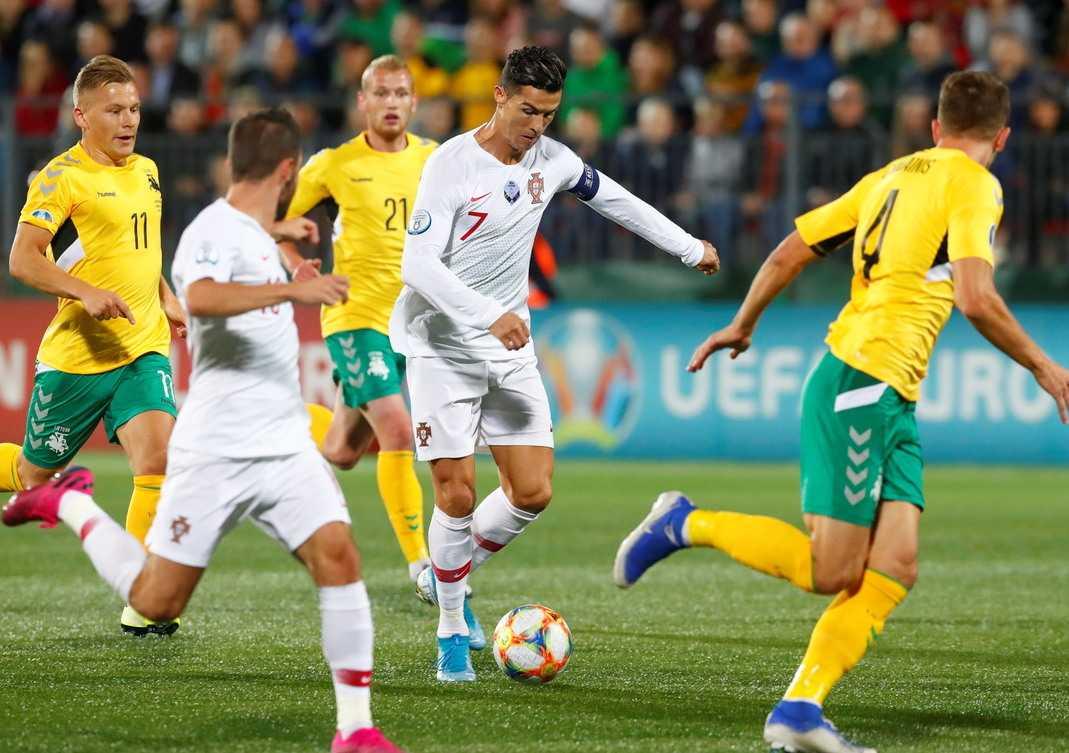 Cristiano Ronaldo Portugal vs Lithuania