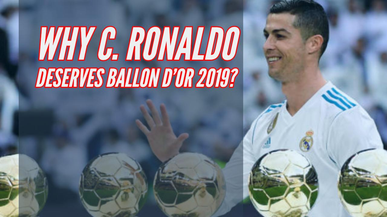 Cristiano Ronaldo Ballon d'Or 2019