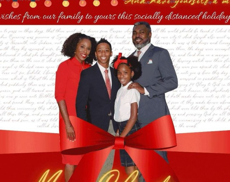 Stacey Plaskett family