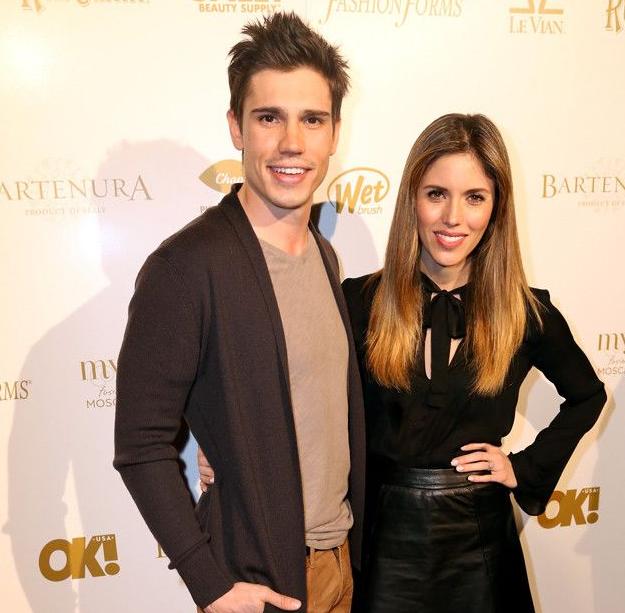 Kayla Ewell and her husband, Tanner Novlan