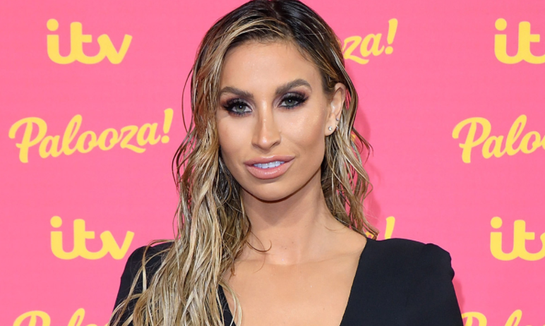 Ferne McCann, a famous model and TV personality