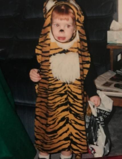 Carson Wentz as a kid