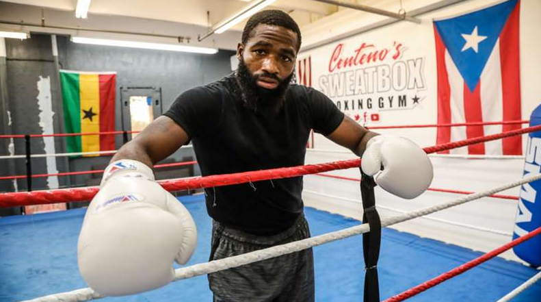 Adrien Broner, a professional boxer