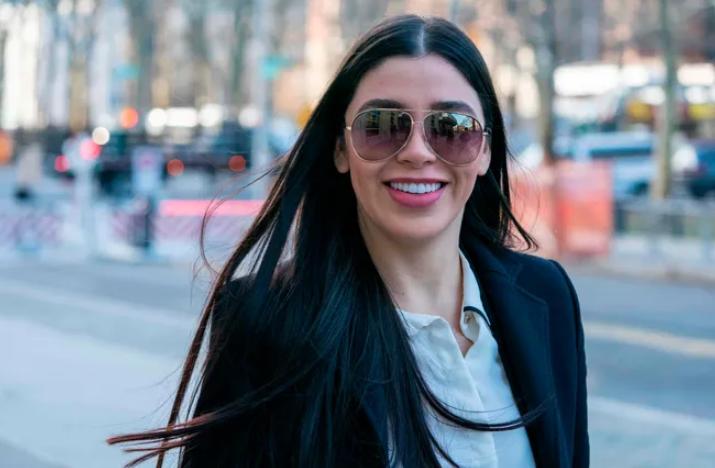 Emma Coronel Aispuro, an American former beauty queen