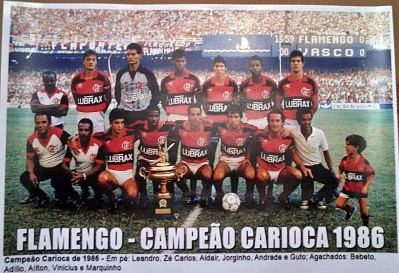 Bebeto Flamengo 1986
