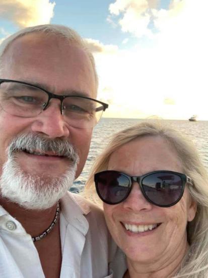 John Geddert and his wife, Kathryn