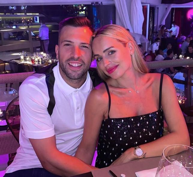 Jordi Alba wife