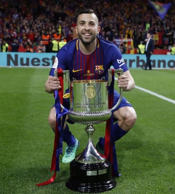 Jordi Alba awards