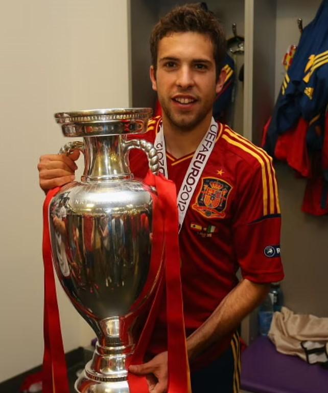 Jordi Alba Euro