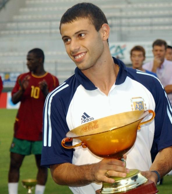 Javier Mascherano awards