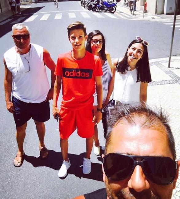 Tiago Dantas family