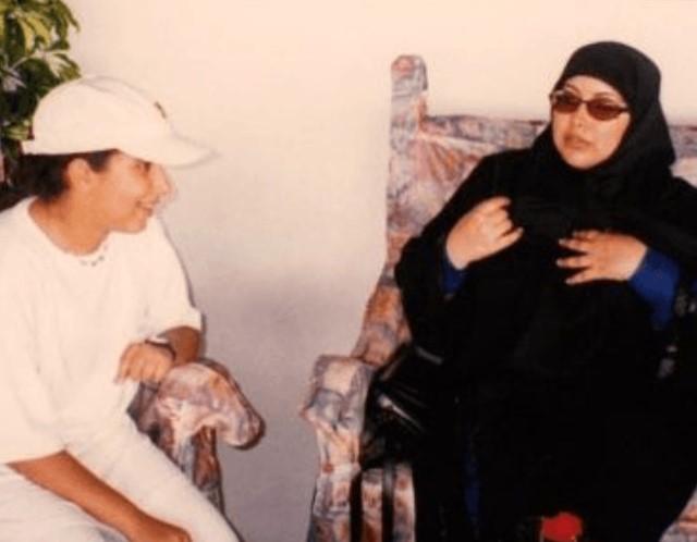 Latifa bint Mohammed Al Maktoum mother