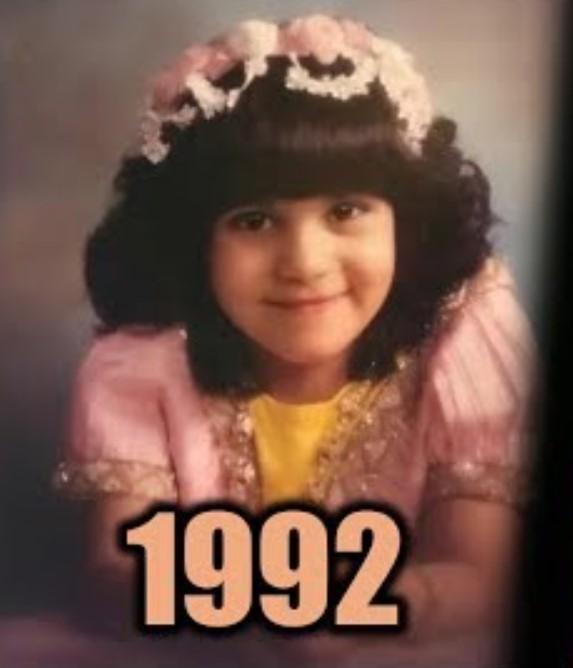 Latifa bint Mohammed Al Maktoum young