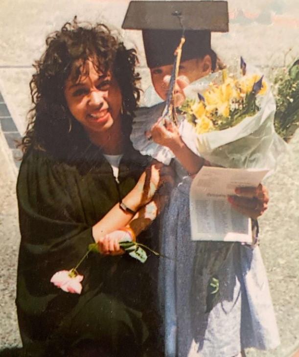 Meena Harris mother
