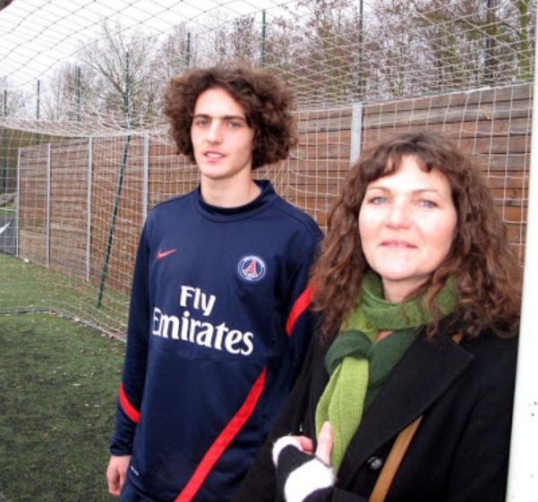 Adrien Rabiot mother