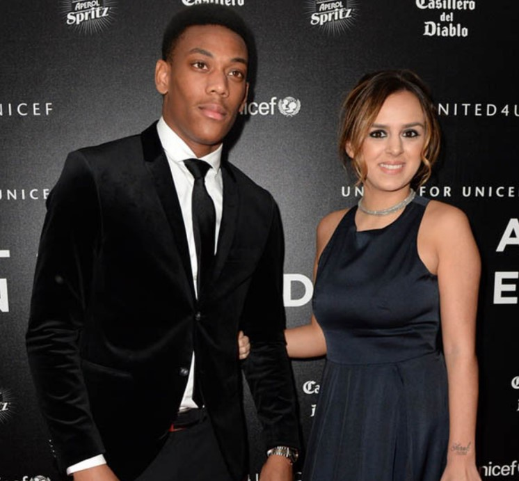 Anthony Martial ex-wife