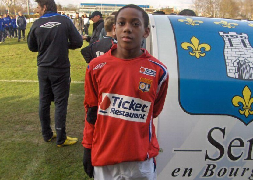 Anthony Martial young