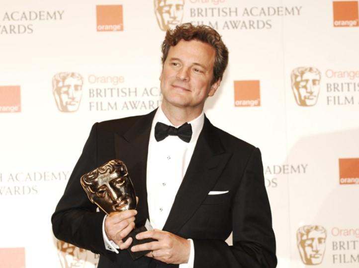 Colin Firth BAFTA