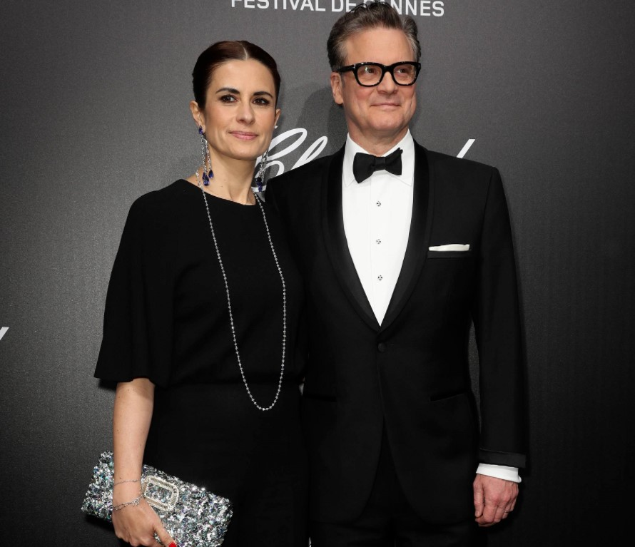 Colin Firth wife