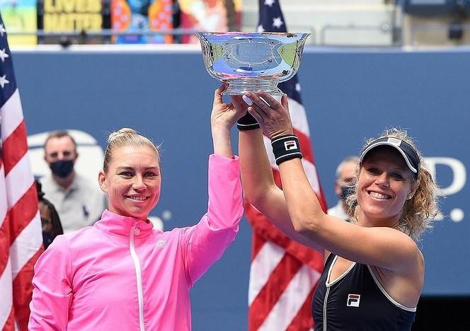 Laura Siegemund US Open women's double
