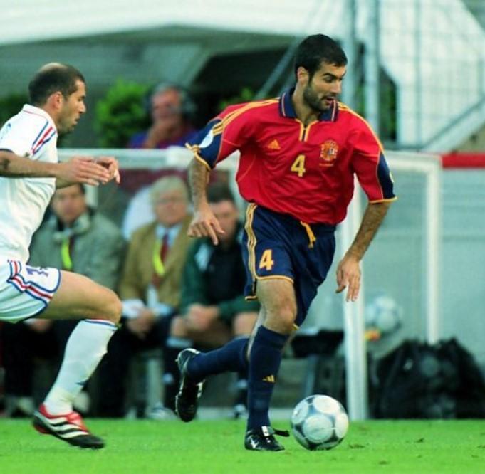 Pep Guardiola Euro Cup 2000