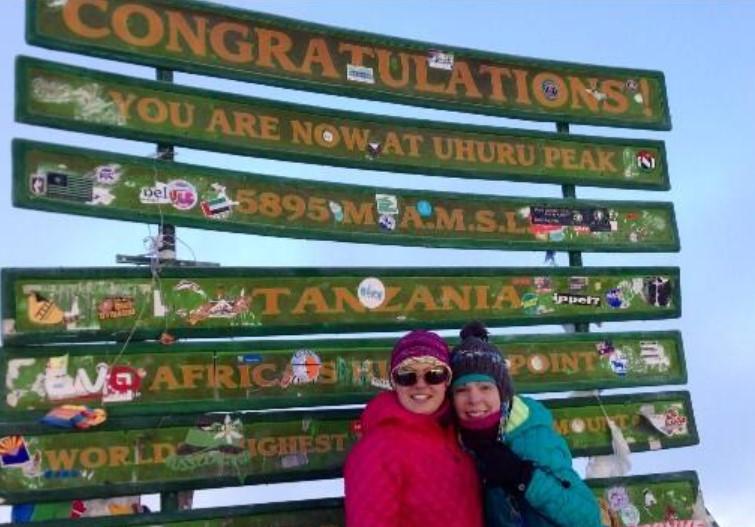 Kyrsten Sinema Mount Kilimajaro
